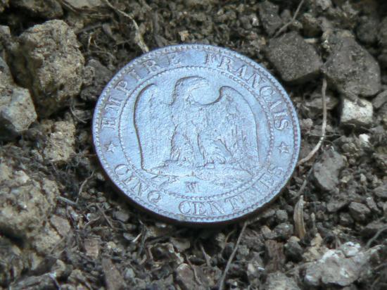 napo III,5cts 1854