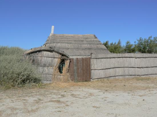 baraque de pêcheurs en senills
