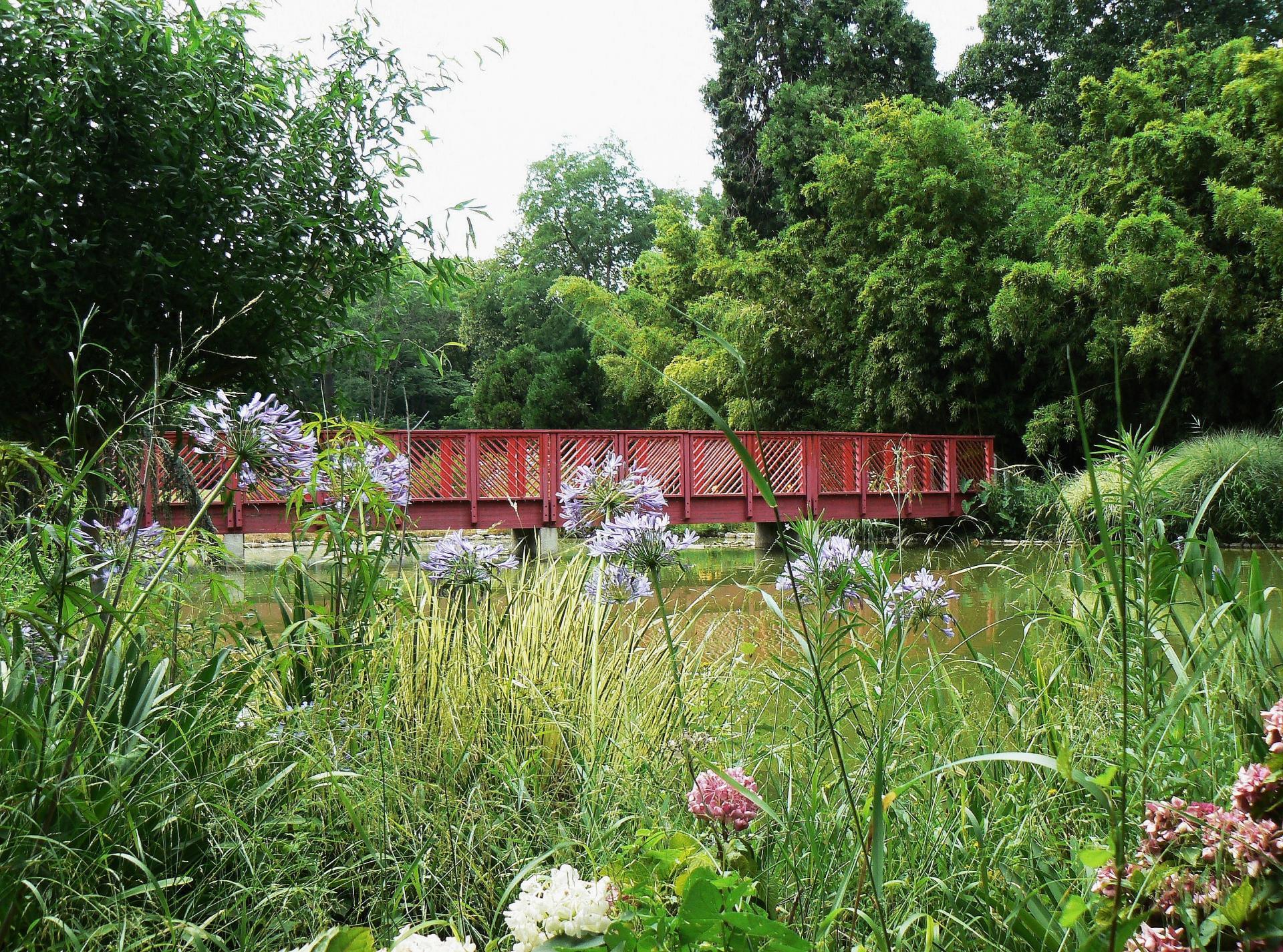 Diapo le jardin des plantes des capellans - Pont du jardin des plantes ...