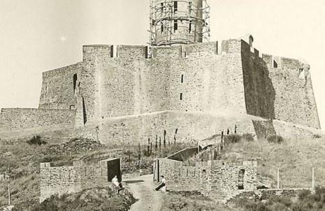 reconstruction de la tour en 1927